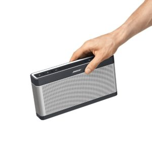 Bose SoundLink Bluetooth Lautsprecher III silber/Bluetooth Lautsprecher von Bose