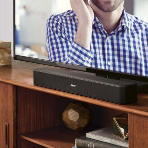 Bose Solo 5 TV Sound System schwarz/Lautsprecher für TV