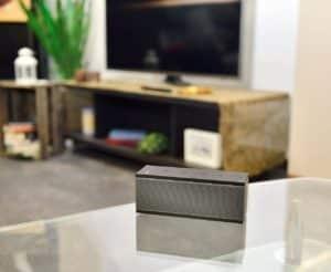 Der auvisio WLAN-Multiroom-Lautsprecher aus dem Wlan Lautsprecher Test